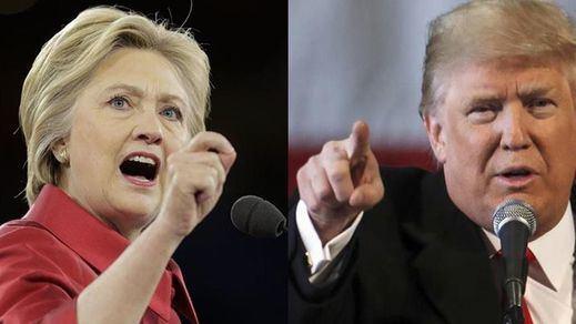 Trump ya aventaja a Clinton en las últimas encuestas