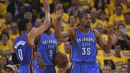 Ibaka se acerca al anillo de la NBA: sus Thunders aventajan a los Warriors en la final del Oeste (2-1)