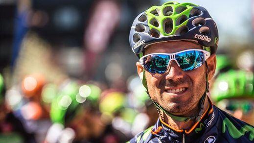 Alejandro Valverde se hace con el triunfo de la decimosexta etapa del Giro de Italia en Andalo