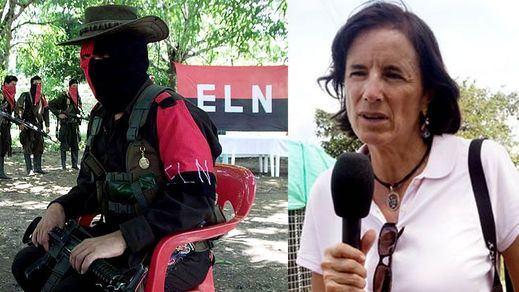 El Ejército de Liberación Nacional (ELN) colombiano no revela si ha secuestrado a la periodista española