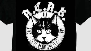 Interior justifica la detenci�n de la joven que llevaba un bolso con el mensaje ACAB sobre gatitos...