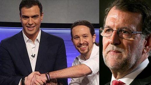 Sánchez y el PSOE se esconden: piden un 'cara a cara' con Rajoy pero rechazan a Iglesias