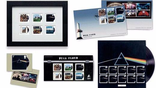 Los mejores éxitos de Pink Floyd, en sellos postales