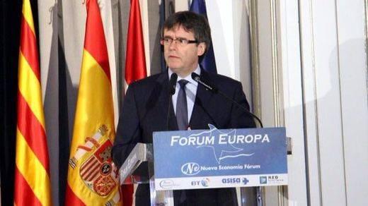Puigdemont lanza el órdago total en Madrid: o negociación o independencia en un año