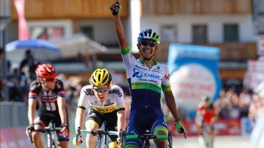 Vuelco total en el Giro: Nibali gana la etapa y Chaves se viste de rosa a costa de Kruijswijk