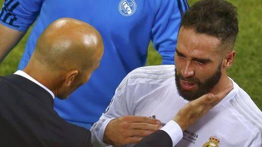 La lesión de Carvajal, más grave de lo que se pensaba: podría hacerle perder la Eurocopa