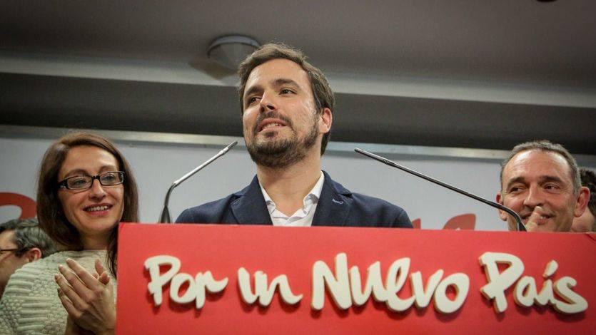 Alberto Garzón analiza los resultados de Unidad Popular- Izquierda Unida en las elecciones generales del 20-D