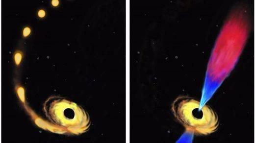 ¿Son bidimensionales los agujeros negros?