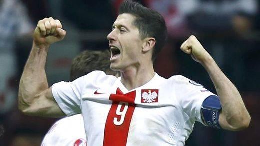 Lewandosky será el jefe y el goleador de Polonia en la Eurocopa