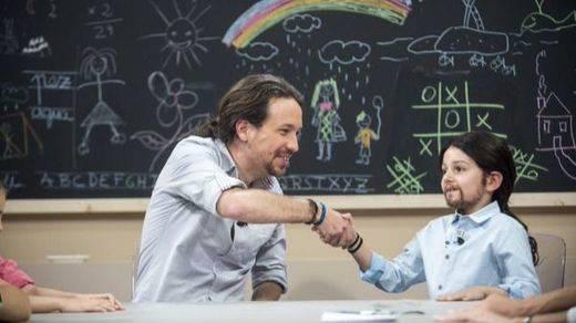 Iglesias se enfrenta a su 'mini-yo' en el programa 'Quiero gobernar'