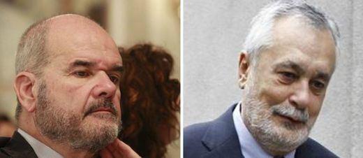 Chaves y Griñán, procesados juntos a 6 ex consejeros por el 'caso de los ERE'
