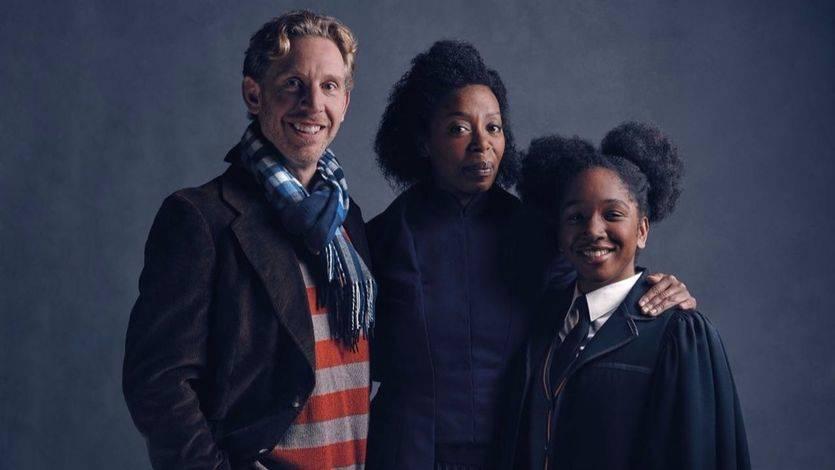 Familia Hermione y Ron
