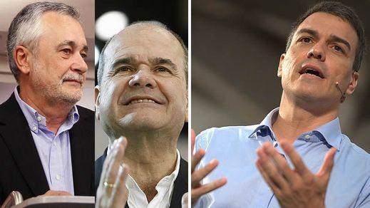 Malestar interno en el PSOE por Chaves y Griñán: Sánchez deja apartados a los ex presidentes andaluces