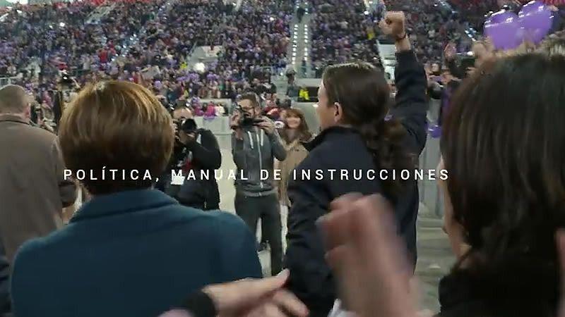 'Política, manual de instrucciones': un relato irregular sobre la maquinaria de Podemos
