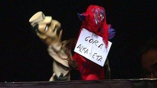 Los titiriteros del 'Gora Alka ETA' volverán a levantar el telón en Madrid
