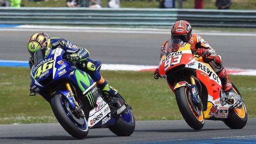 Rossi reina por décima vez en Montmeló y Márquez lidera el Mundial