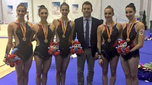 El equipo español de rítmica conquista el oro en la Copa del Mundo de Guadalajara