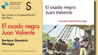 'El osado negro valiente', nueva obra de Enrique Gomáriz