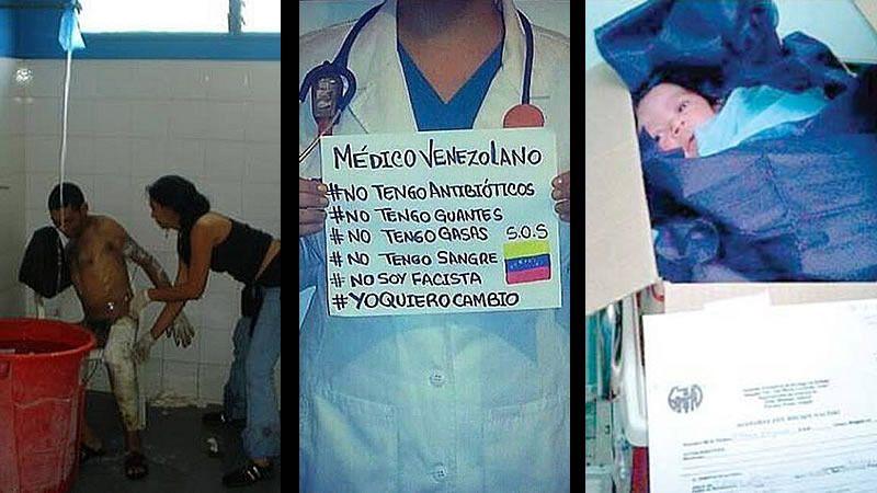 Todo vale en la guerra contra el chavismo en Venezuela: así se mezcla la manipulación con las imágenes reales de denuncia