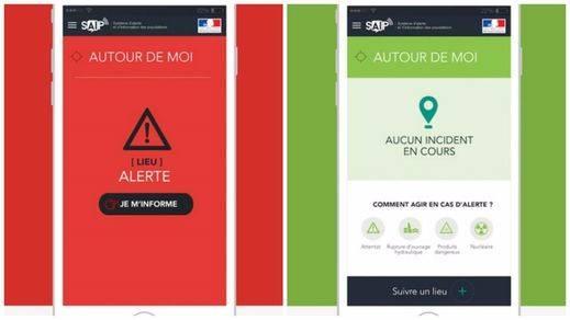 Francia pone en marcha una 'app' que alerta sobre atentados y emergencias