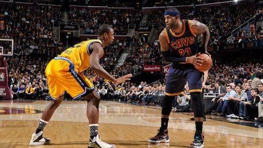 Final de la NBA: los Cleveland 'apalizan' a los Warriors y suman su primer punto (120-90)