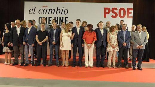 Andalucía, País Vasco y Castilla y León concentran la mitad de los escaños que pierde el PSOE
