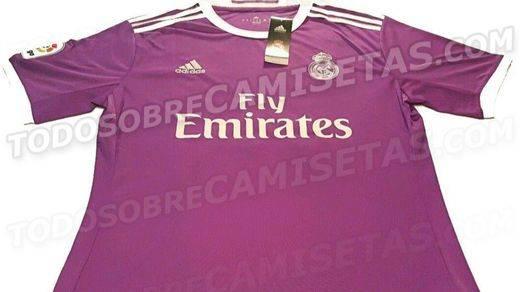 Primera y segunda camisetas del Real Madrid para la próxima temporada (+portero)