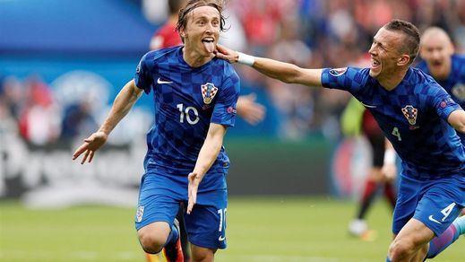 Modric guía a una superior Croacia ante Turquía con un gran gol (1-0)