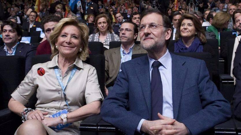 Aguirre se busca una buena excusa para no salir con Rajoy en la foto de la campaña electoral