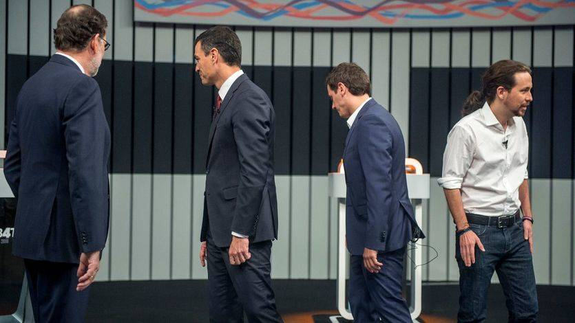 La fractura entre Sánchez e Iglesias difumina un debate centrado en la crítica a Rajoy