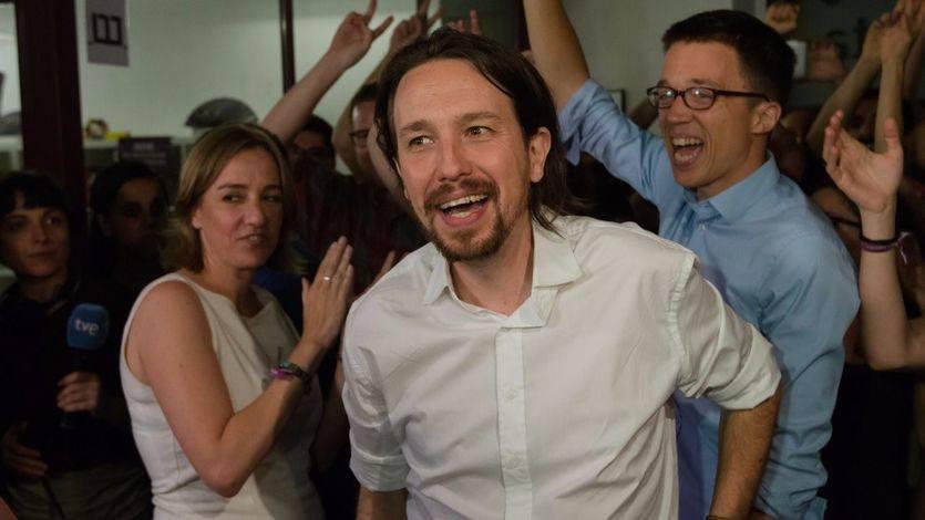 Pablo Iglesias ganó de nuevo a todos sus rivales, según la mayoría de encuestas