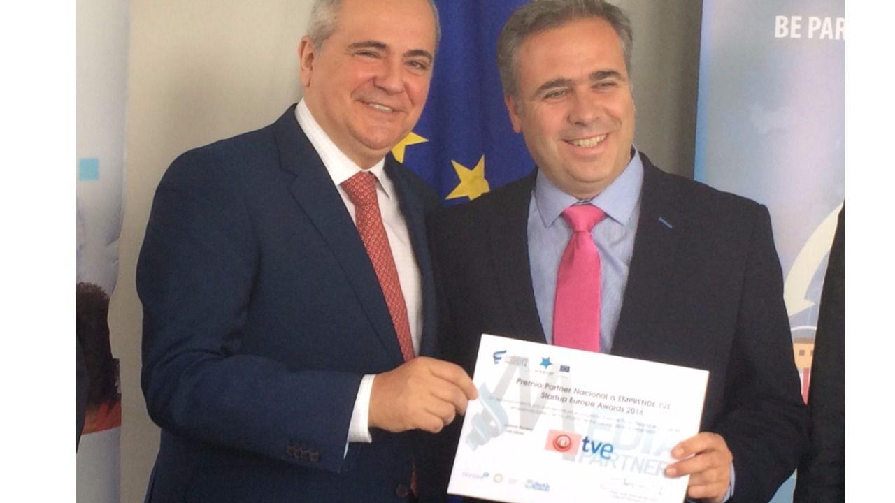 'Emprende', de Canal 24 horas, reconocido en los StartUp Europe Awards