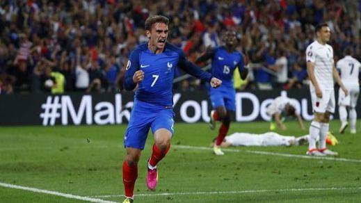 Eurocopa: Griezmann salva a Francia ante Albania y la mete ya en octavos (2-0)