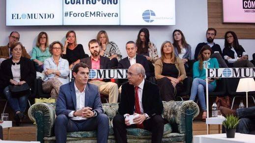 Rivera admite que dará prioridad a negociar con el PP si apartan a Rajoy