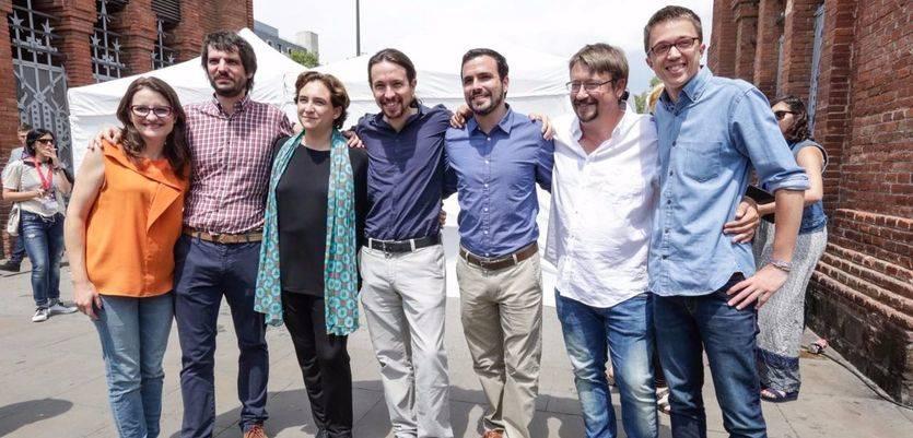 Los socios catalanes de Podemos casi duplican a ERC y Convergència juntos