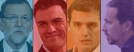 Así son de verdad los 4 candidatos más allá de sus discursos y sus programas