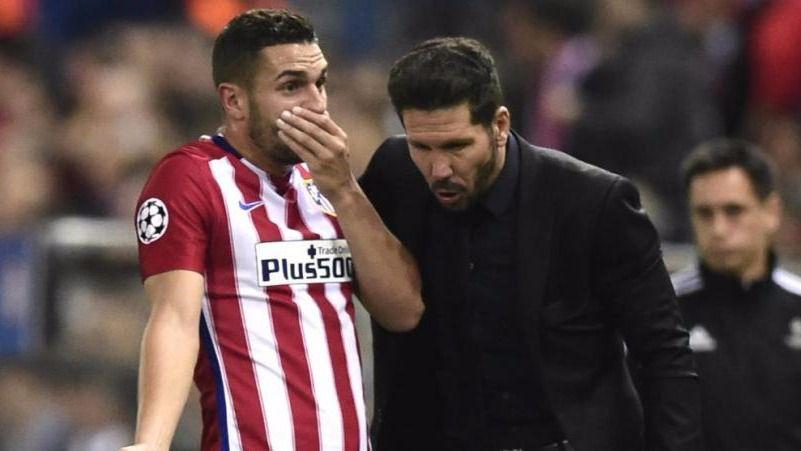 Koke entiende las dudas de Simeone pero considera 'fundamental' que siga en el Atlético