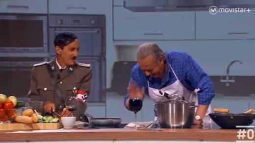 Bertín Osborne estalla contra Buenafuente por una parodia hilarante en la que 'entrevistaba' a Hitler