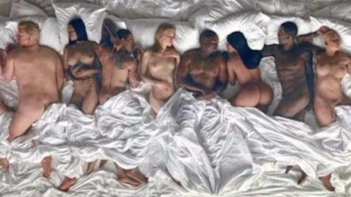 Kanye West la lía con sus famosos desnudos: ¿son realmente Tylor Swift, Rihanna y ¡Trump!?