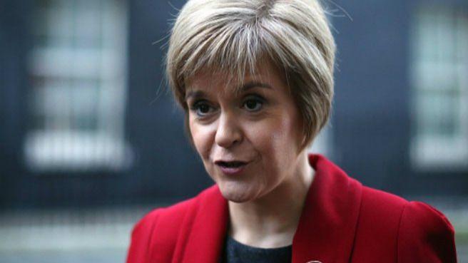 Resultado de imagen para Fotos de La ministra principal de Escocia,