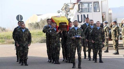 Muere un militar español en la base de la misión en Líbano