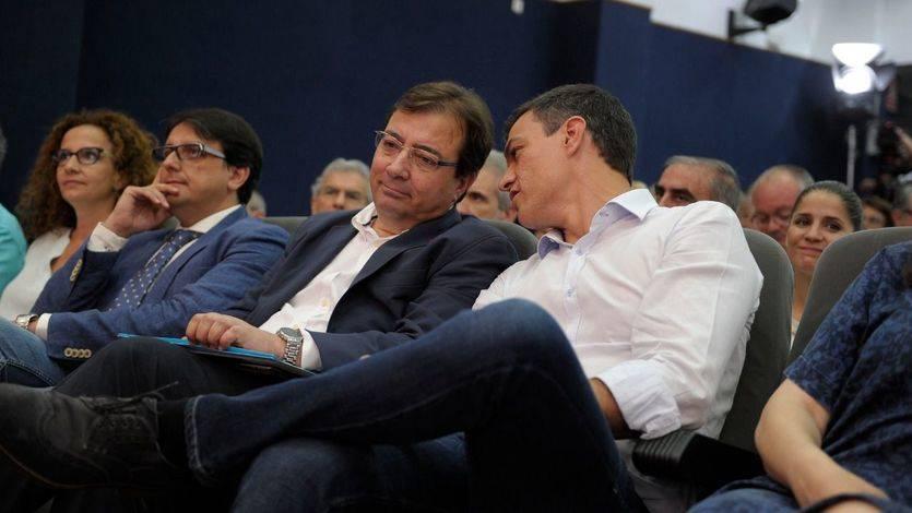 Fernández Vara, 'trending topic' por mandar al PSOE a la oposición con Rajoy como presidente