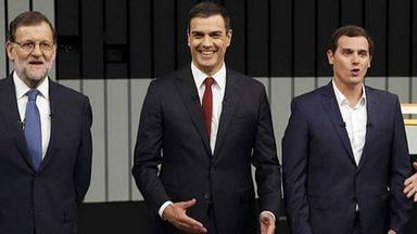 Rivera desvela que ha propuesto a Rajoy y a S�nchez una mesa a tres y la han rechazado