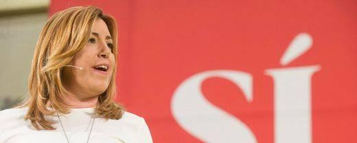 Susana Díaz prepara el camino para la dimisión de Pedro Sánchez y un gobierno en minoría del PP
