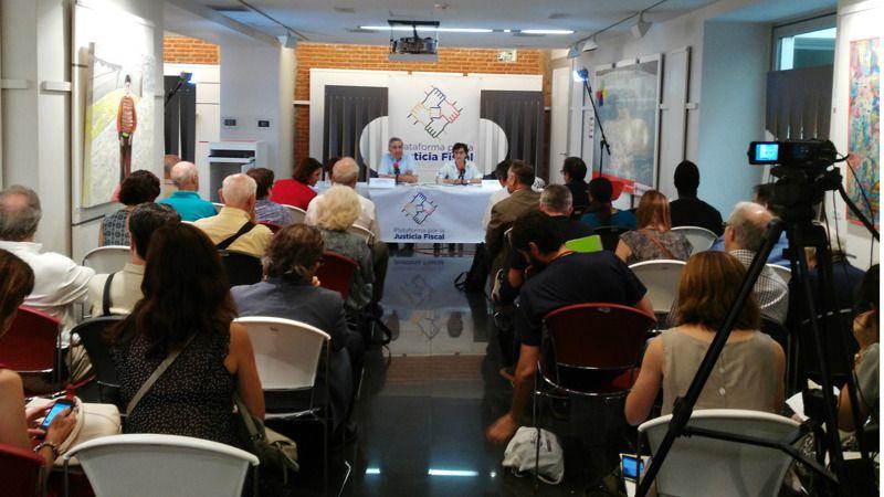 Nace la Plataforma por la Justicia Fiscal para corregir las desigualdades del sistema impositivo español