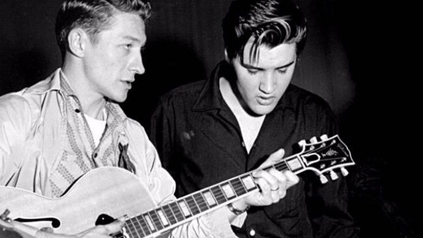 Adiós a la Mano del Rey, adiós a Scotty Moore, el guitarrista de Elvis