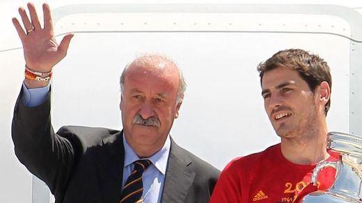 Del Bosque se marcha cargando contra Iker Casillas