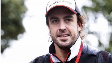 Fernando Alonso, por fin, apunta algo de optimismo y confianza en su coche ante el GP de Austria