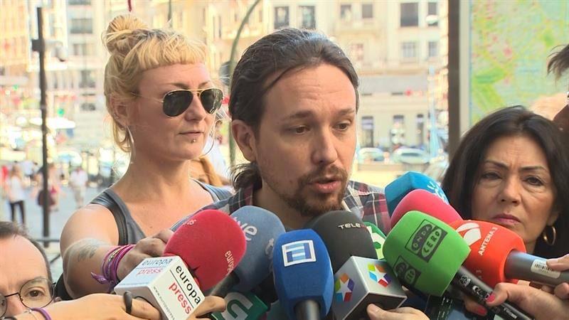 >> Los líderes autonómicos de Podemos no tienen 'ninguna duda' sobre el liderazgo de Iglesias