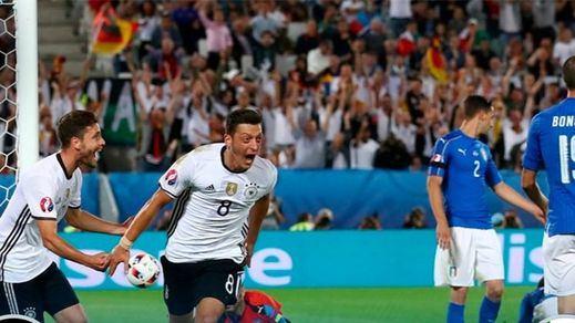 La lotería de los penaltis se inclina del lado de Alemania y deja a Italia con la miel en las... botas (1-1 / 5-6)